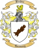 Richter Family Coat of Arms from Germany2