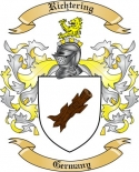 Richtering Family Coat of Arms from Germany2