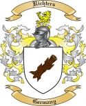 Richters Family Crest from Germany2