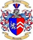 Richters Family Crest from Germany