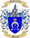 Richwalski Family Crest from Poland