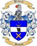 Rickard Family Crest from Ireland