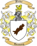 Ricter Family Coat of Arms from Germany2