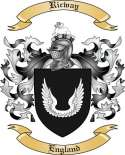 Ricway Family Crest from England