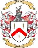 Riddile Family Crest from Ireland