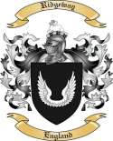 Ridgeway Family Coat of Arms from England