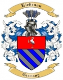 Riedenau Family Crest from Germany