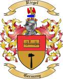 Riegel Family Crest from Germany