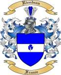 Riendeau Family Crest from France