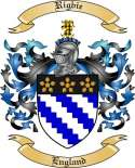 Rigbie Family Crest from England