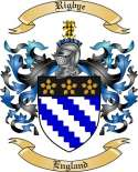 Rigbye Family Coat of Arms from England