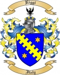 Riggi Family Crest from Italy