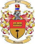 Rigil Family Coat of Arms from Germany