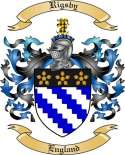 Rigsby Family Crest from England