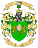Rile Family Coat of Arms from Ireland