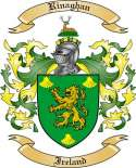 Rinaghan Family Crest from Ireland
