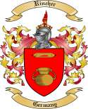 Rincher Family Crest from Germany