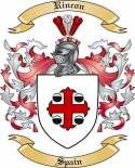 Rincon Family Coat of Arms from Spain