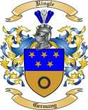 Ringle Family Crest from Germany