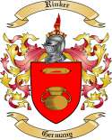 Rinker Family Crest from Germany