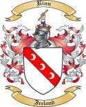 Rinn Family Coat of Arms from Ireland