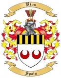 Rios Family Coat of Arms from Spain2