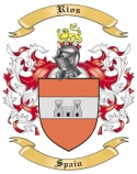 Rios Family Coat of Arms from Spain