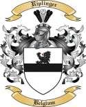 Riplinger Family Coat of Arms from Belgium