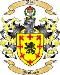 Risk Family Coat of Arms from Scotland