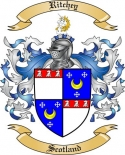 Ritchey Family Crest from Scotland