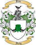 Rivi Family Crest from Italy