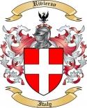 Rivierzo Family Coat of Arms from Italy