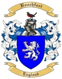 Roachfort Family Coat of Arms from England