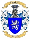 Roachfort Family Crest from Ireland