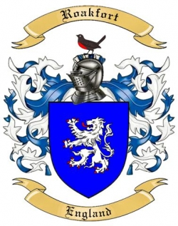 Roakfort Family Coat of Arms from England