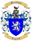 Roakfort Family Crest from England