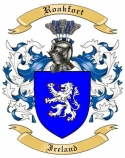 Roakfort Family Crest from Ireland