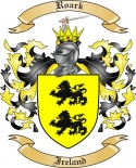 Roark Family Crest from Ireland