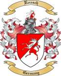 Roasch Family Crest from Germany