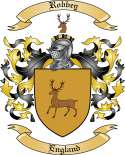 Robbey Family Coat of Arms from England
