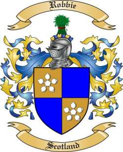 Robbie Family Coat of Arms from Scotland