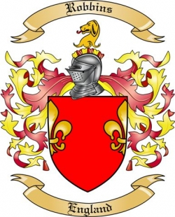 Robbins Family Crest from England