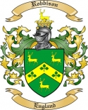 Robbison Family Coat of Arms from England