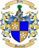 Robe Family Coat of Arms from Scotland