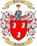 Roberson Family Crest from Scotland