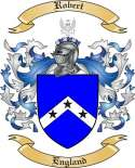 Robert Family Crest from England