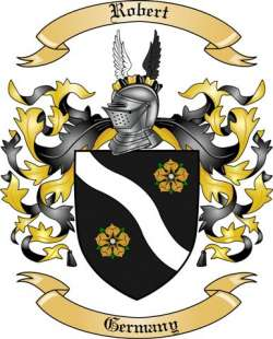 Robert Family Coat of Arms from Germany