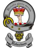 Robertson Family Crest from Scotland2