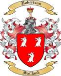 Robertson Family Crest from Scotland