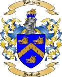 Robeson Family Crest from Scotland